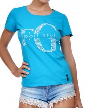 Women's T-Shirt Model 3404 Stamp T12